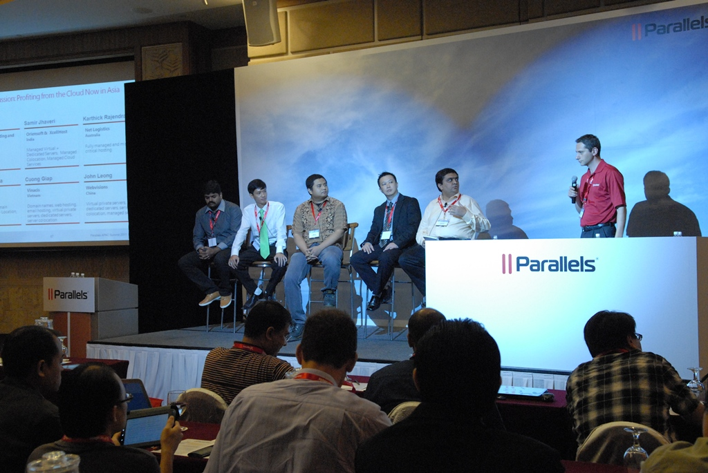 Parallels Apac Summit 2012